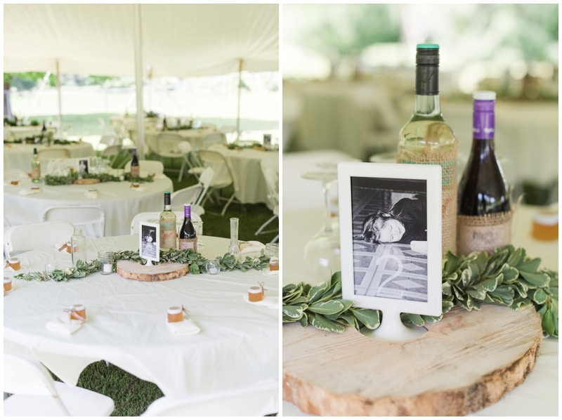 DIY Backyard Summer Wedding in Emporium, PA by Madeline Jane Photography