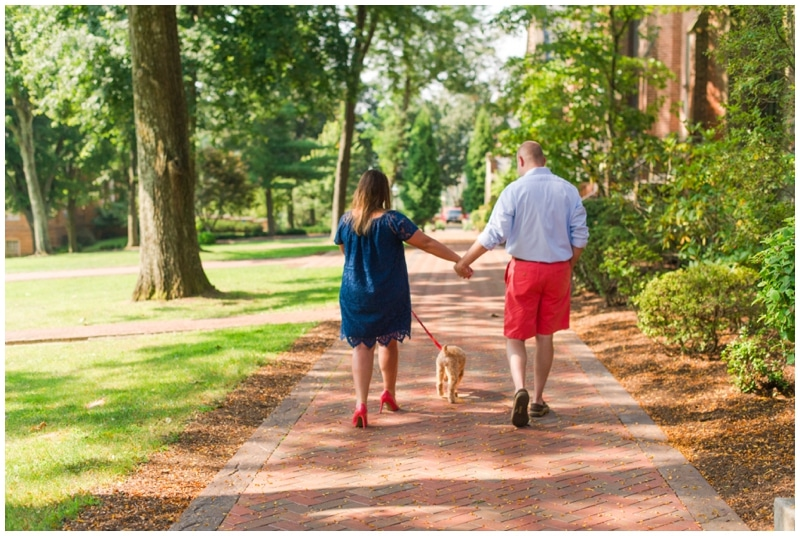 Bethany College, WV engagement by Madeline Jane Photography
