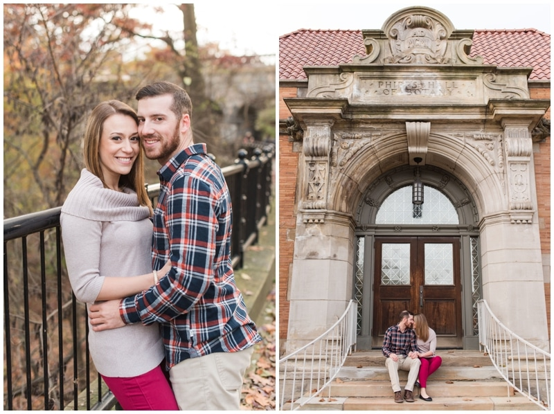 Fall engagement session in Pittsburgh, PA by Madeline Jane Photography