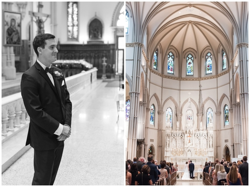 Fall wedding at Saint Paul Cathedral, Pittsburgh, PA by Madeline Jane Photography