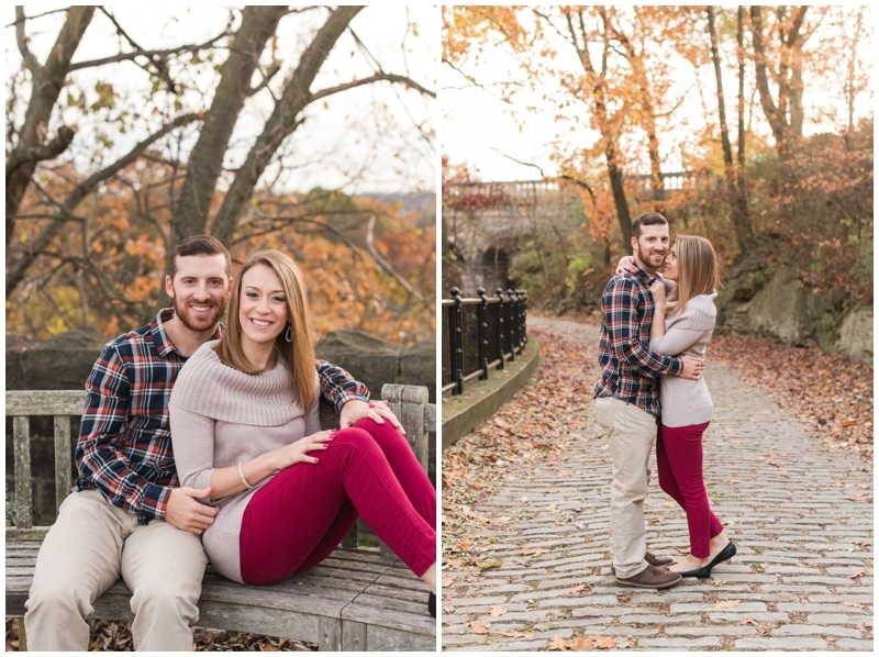 Fall Phipps Conservatory engagement session in Pittsburgh, PA by Madeline Jane Photography