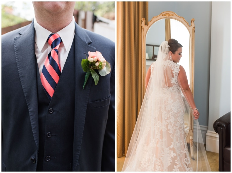 Pittsburgh's Grand Hall wedding at the Priory by Madeline Jane Photography