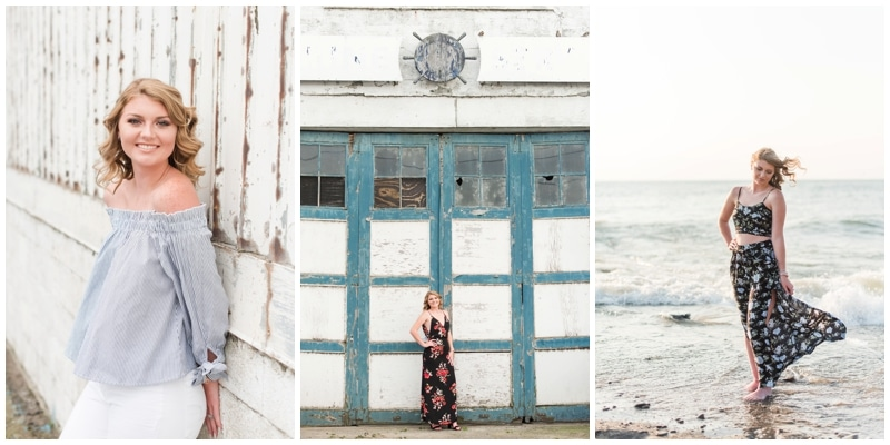 Lake Erie Senior Portraits // Olivia