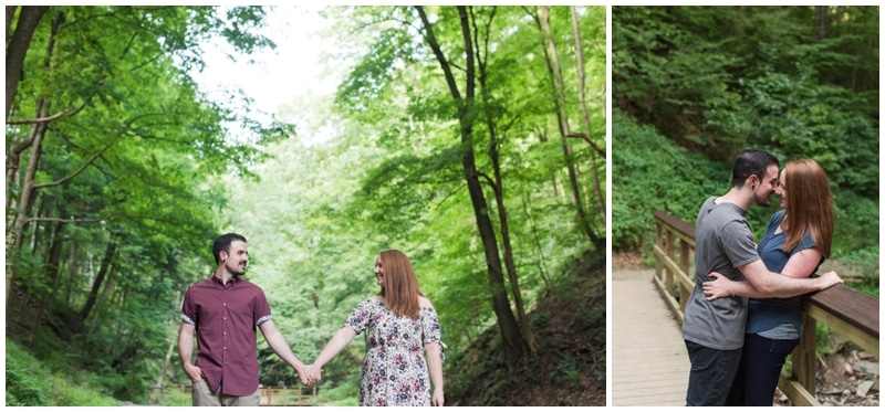 Fall Run Park Engagement Session by Madeline Jane Photography